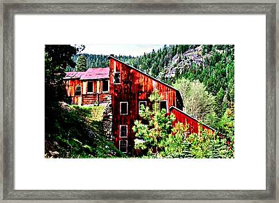 The Old E And E Framed Print by Lynne and Don Wright