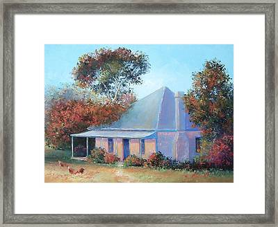 The Old Farm House Framed Print by Jan Matson