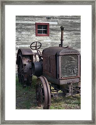 The Old Mule  Framed Print
