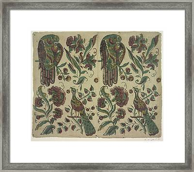 The Olga Hirsch Collection Of Decorated P Framed Print