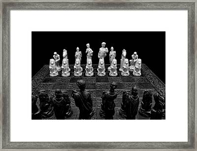 The Opponents View Framed Print