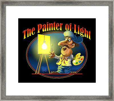 The Painter Of Light Framed Print
