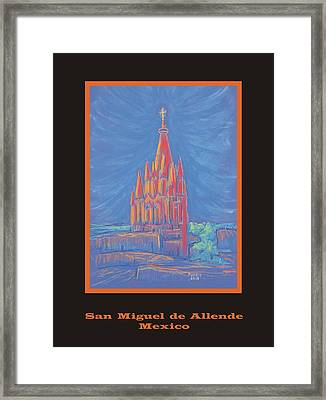 The Parroquia Framed Print by Marcia Meade
