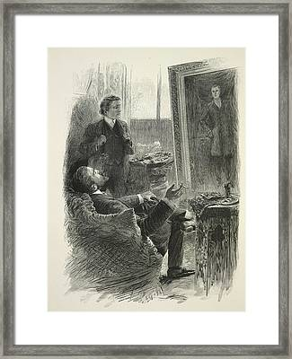 The Picture Of Dorian Gray Framed Print