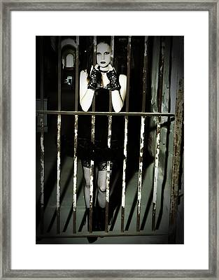 The Prisoner Framed Print by Jim Poulos