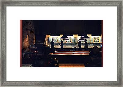 The Pub Framed Print