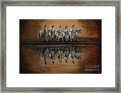 The Quest Framed Print by Nancy Bradley