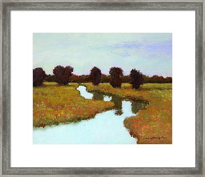 The River Takes You Home Framed Print