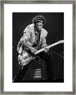 The Rolling Stones Framed Print by Peter Aitchison