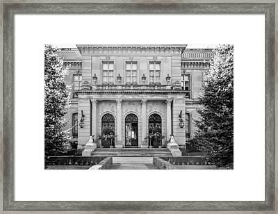 The Rosecliff Framed Print
