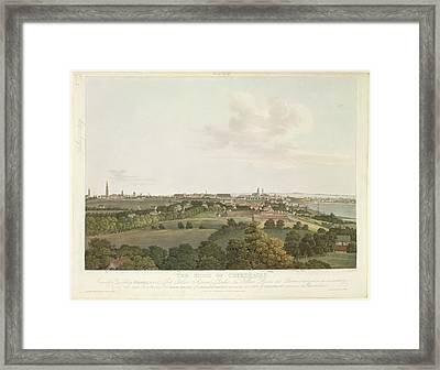 The Siege Of Copenhagen Framed Print