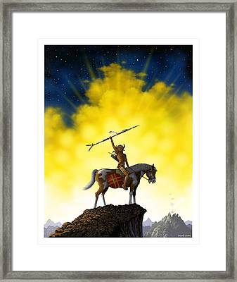 The Signal Framed Print