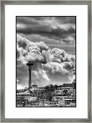 The Space Needle Framed Print by David Patterson