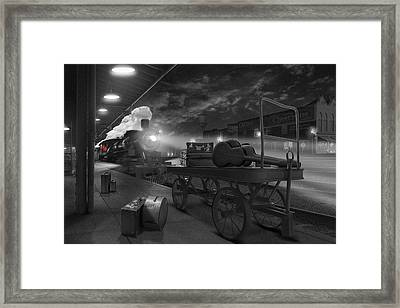 The Station Framed Print by Mike McGlothlen