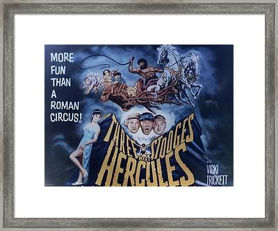 The Three Stooges Meet Hercules Framed Print