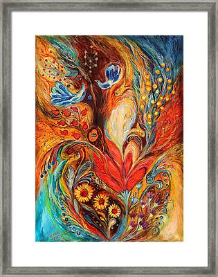 The Tree Of Life Framed Print by Elena Kotliarker