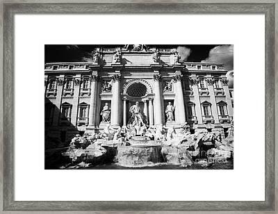 The Trevi Fountain Rome Lazio Italy Framed Print by Joe Fox