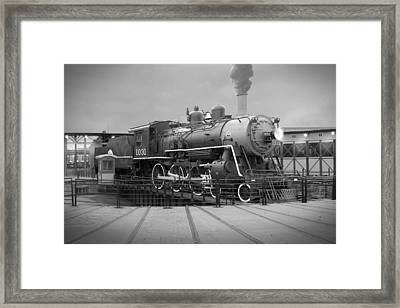 The Turntable Framed Print by Mike McGlothlen