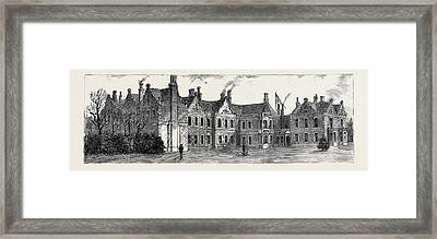 The Visit Of The Prince Of Wales To Bradgate Park Framed Print by English School