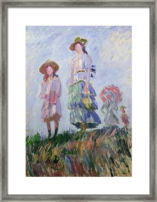 The Walk Framed Print
