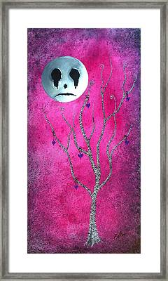 Framed Print featuring the painting The Zebra Effect 3 by Oddball Art Co by Lizzy Love