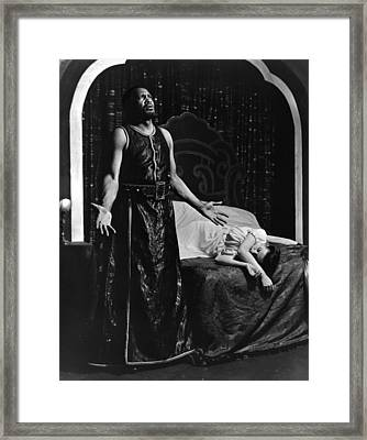 Theatre Othello, 1943 Framed Print by Granger