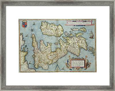 Theatrum Orbis Terrarum Framed Print