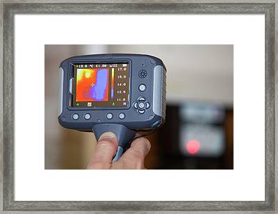 Thermal Imaging Camera Framed Print by Ashley Cooper