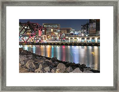 Third Street Bridge Framed Print