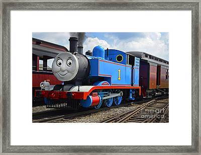 Thomas The Engine Framed Print