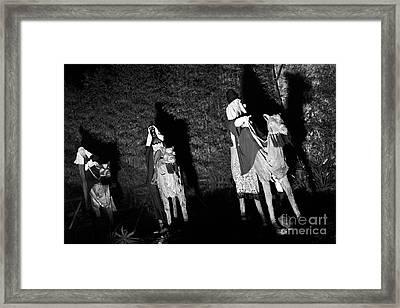 Three Wise Men Framed Print by Gaspar Avila