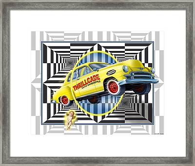 Thrillcade Framed Print