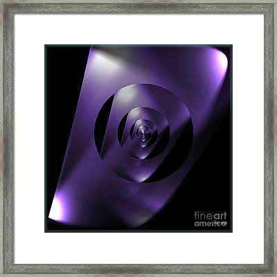 Through The Looking Glass Framed Print by Luther Fine Art