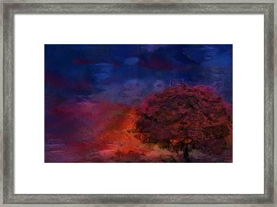 Through The Mist Framed Print by Jack Zulli