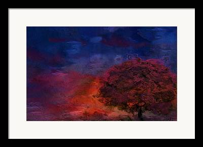 Blue White Silver Yellow Red Gold Framed Prints