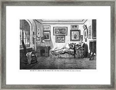 Thurlow Weed (1797-1882) Framed Print