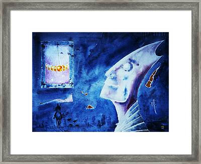 Time  Lord Framed Print by Hartmut Jager
