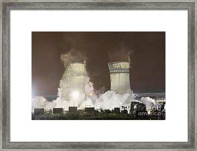 Tinsley Cooling Towers, Sheffield Framed Print by Mark Sykes