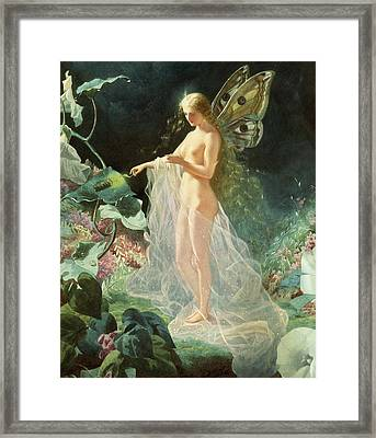 Titania Framed Print by John Simmons