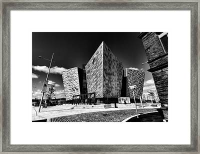 Titanic Signature Building Framed Print