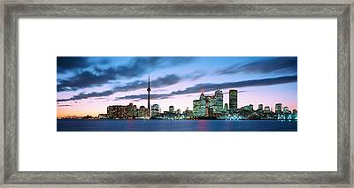 Toronto Ontario Canada Framed Print by Panoramic Images