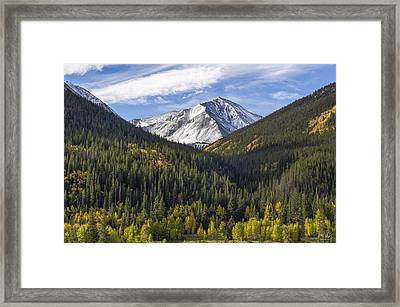 Torreys Peak  Framed Print by Aaron Spong