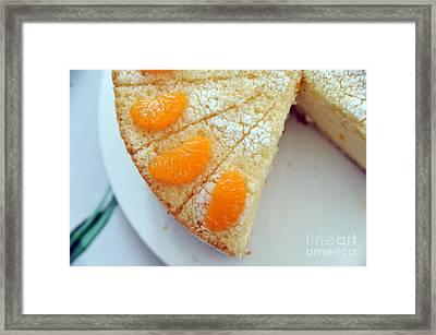 Torte Framed Print