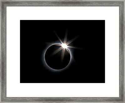Total Solar Eclipse Framed Print by Babak Tafreshi