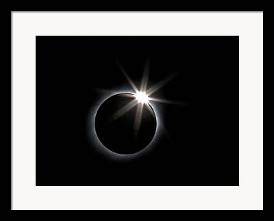 Diamond Ring Framed Prints