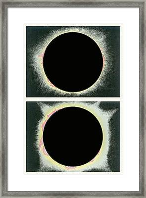 Total Solar Eclipse Framed Print