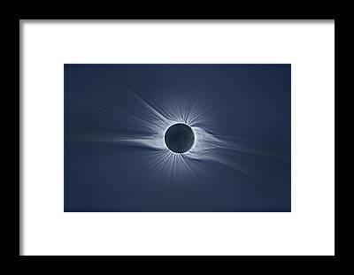 Solar Prominence Framed Prints