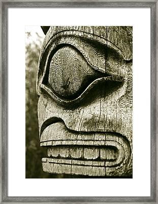 Totem Framed Print by John  Bartosik