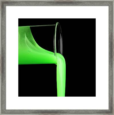 Toy Slime Framed Print by Science Photo Library
