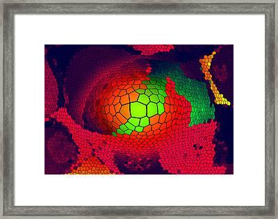 Selbstmotivation Framed Print